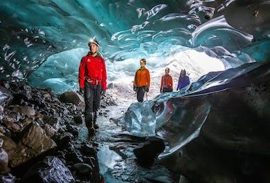 Tour a la Cueva de Hielo Azul en Sólheimajökull   Salida desde Reikiavik