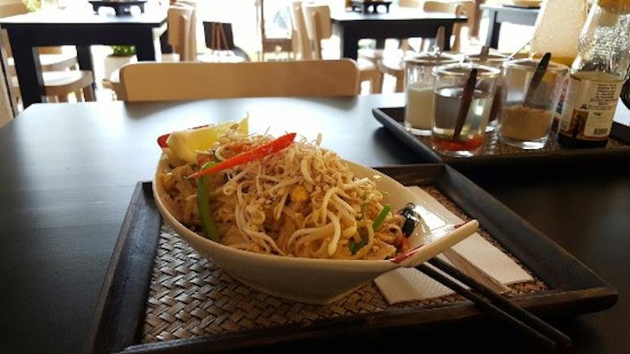 冰島首都雷克雅維克泰式快餐Mai Thai