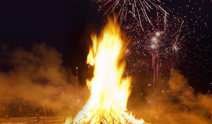 Bonfire-Tour   Silvesterfeuer in Reykjavik