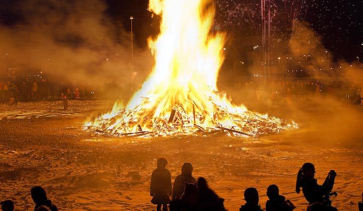 레이카비크 새해맞이 모닥불 축제