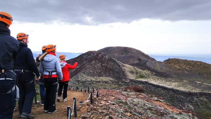 Путешествие к центру вулкана