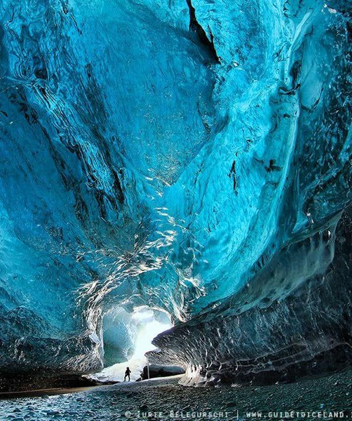 Ice cave in Vatnajökull national park