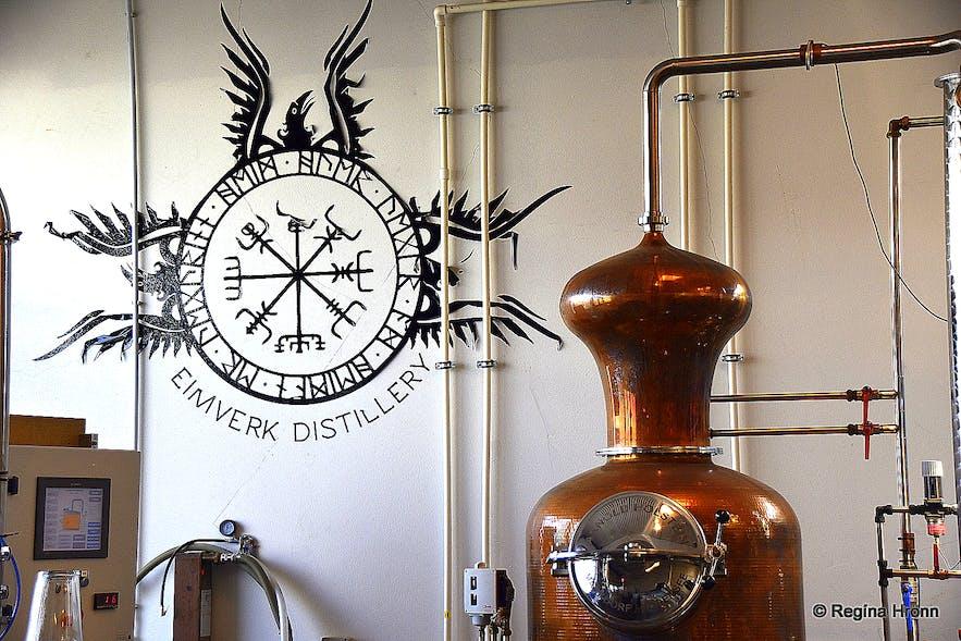 Eimverk Distillery whiskey tasting in Iceland