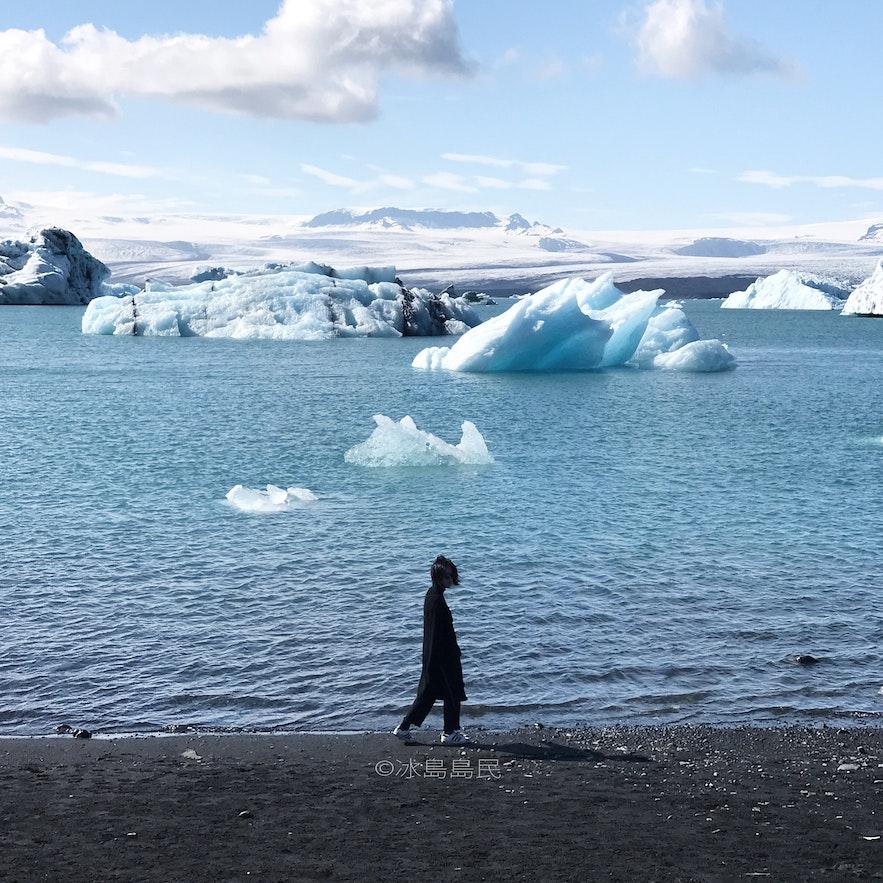 冰島冰瀉湖