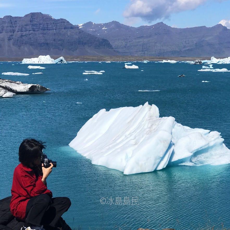 冰島 冰河湖另一個角度