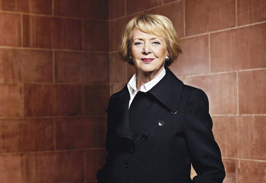Vigdís Finnbogadóttir, former president of Iceland