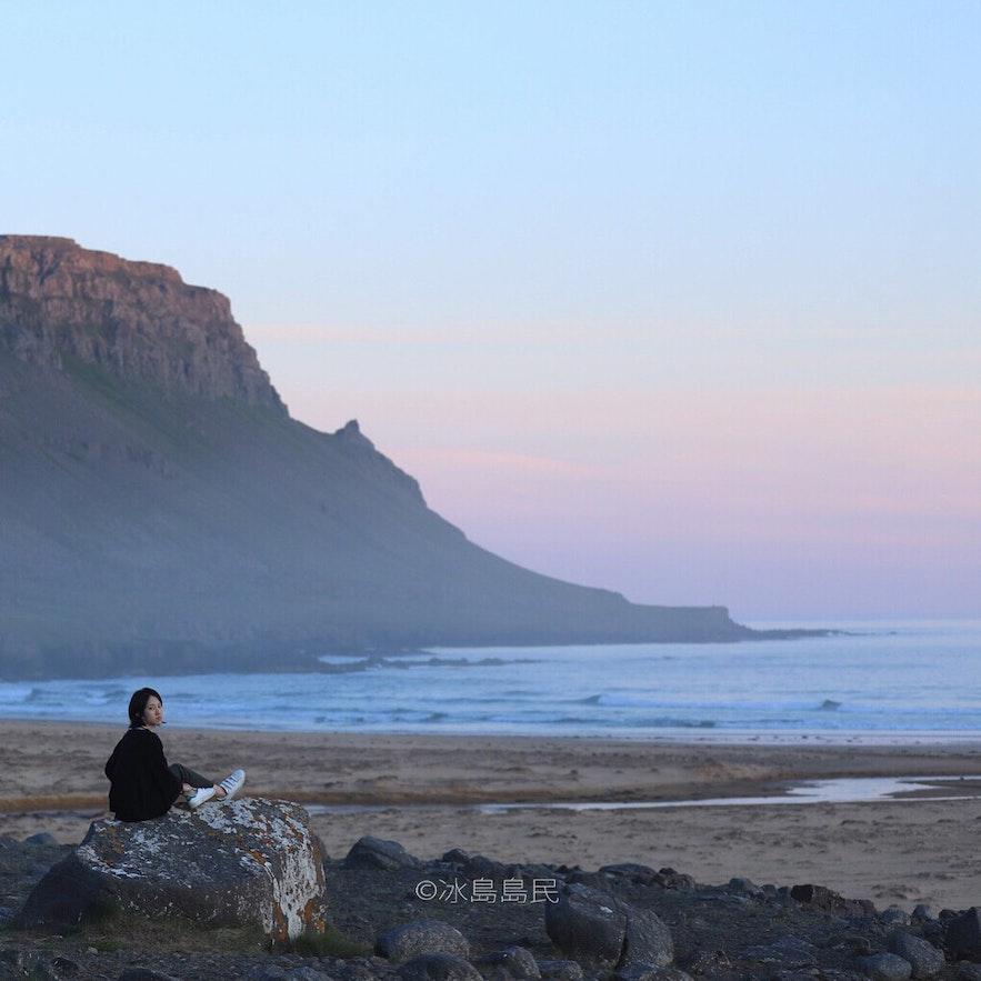 冰島西峽灣的景色
