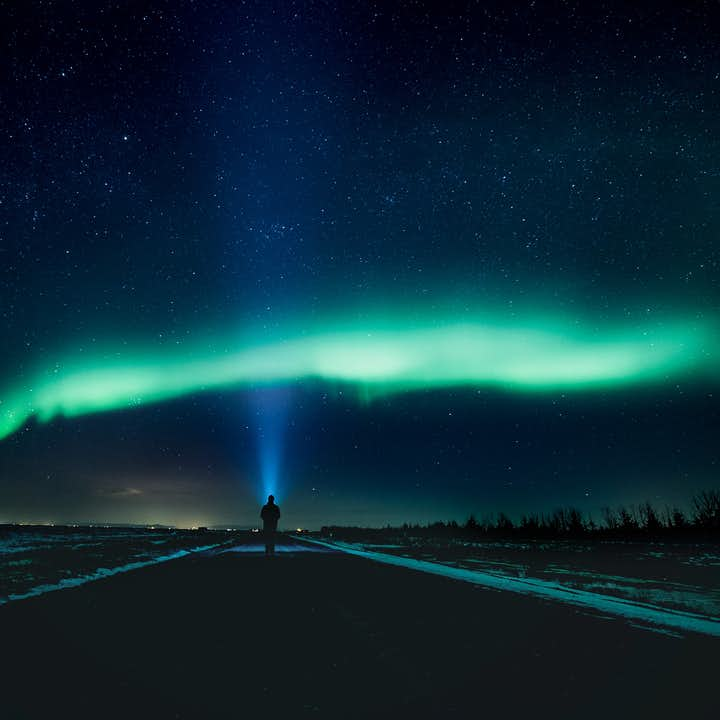 The Northern Lights are fickle but appear regularly in Iceland