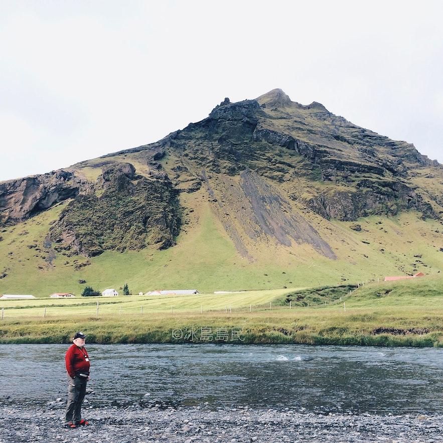 冰島Skogafoss瀑布