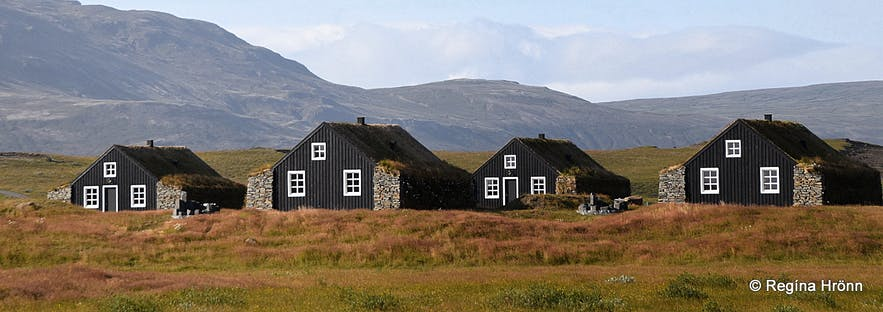 The turf house retreat in South-Iceland
