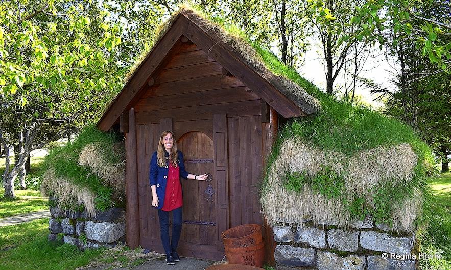 Bænhús turf chapel á Efri-Brú in South-Iceland