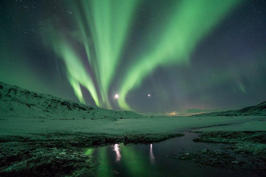 冰島極光攝影建議