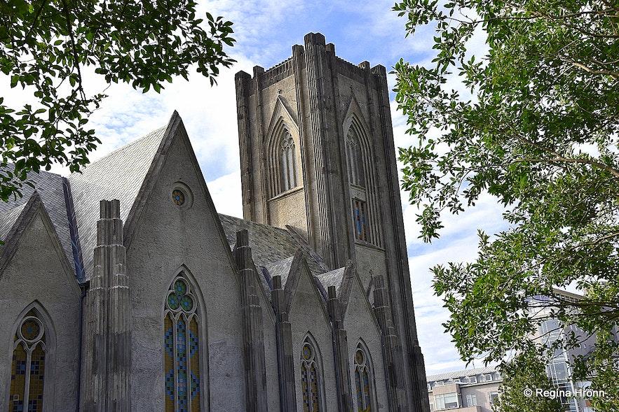 The Catholic Cathedral of Reykjavík
