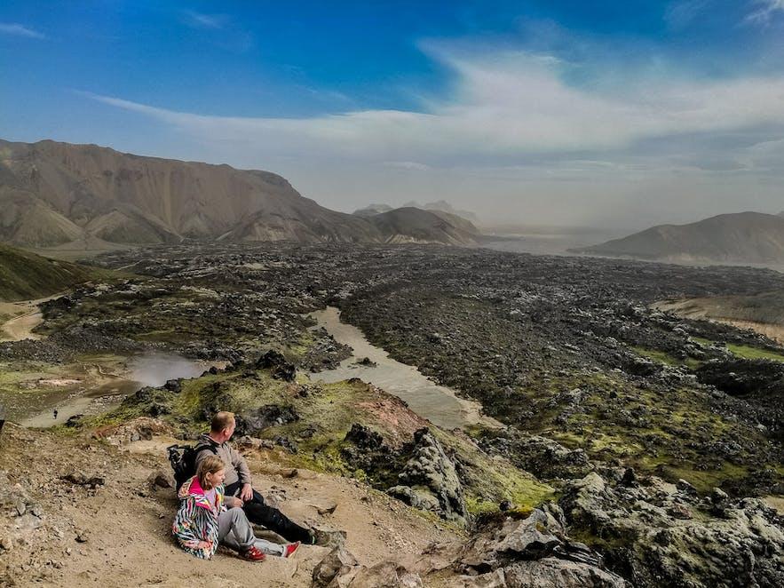 Исландия, высокогорье, Ландманналёйгар
