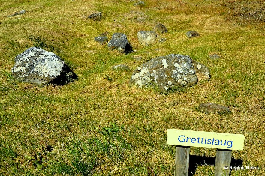 Grettislaug at Reykhólar