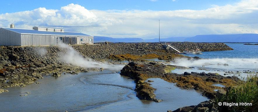 Þörungaverksmiðjan factory at Reykhólar