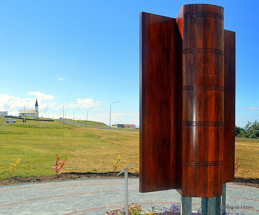 The Monument for Jón Thoroddssen at Reykhólar