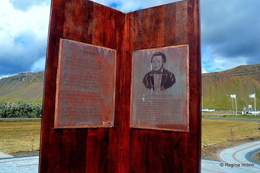 The Monument for Jón Thoroddssen