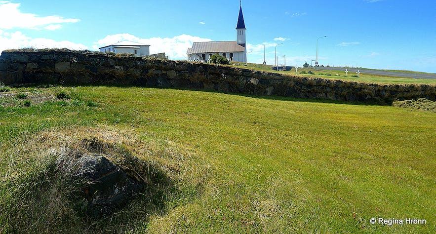 The grave of Tumi Sighvatsson at Reykhólar