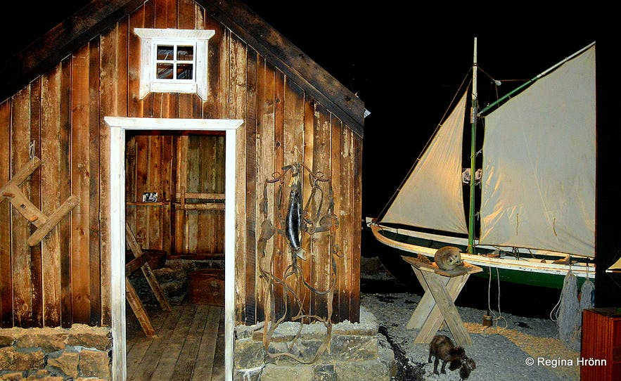 Báta- og hlunnindasýningin - the Boat and Gift of Nature Exhibition