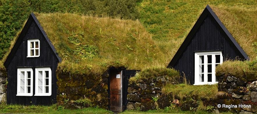 The turf house at Skógasafn museum
