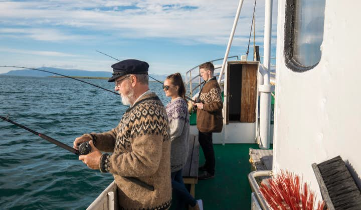 Classic 3 Hour Sea Fishing Trip on an Oak Boat with Transfer from Reykjavik