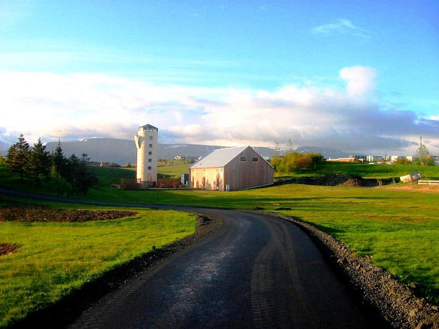 Gufunes是冰岛首都雷克雅未克的休闲区