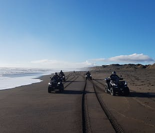 Golden Circle Day Tour with Black Beach ATV Adventure