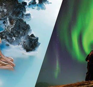 The Blue Lagoon and Northern Lights (Admission Included)