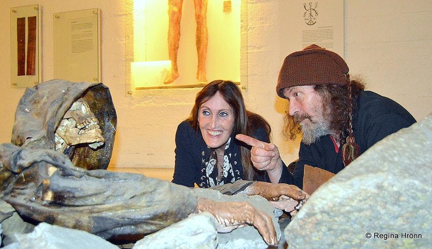 At Galdrasafnið in Hólmavík - the Museum of Icelandic Witchcraft and Sorcery with the late sorcerer Sigurður Atlason