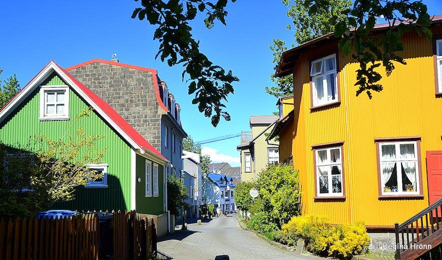 Grjótaþorp, the oldest part of Reykjavík