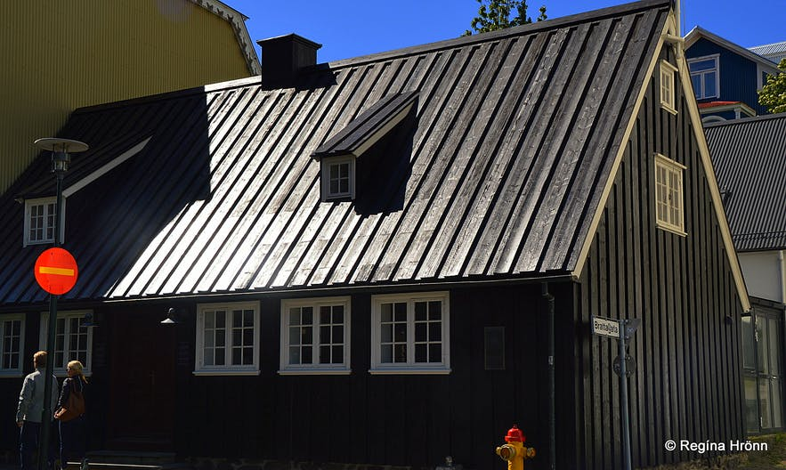 The oldest house in Reykjavík