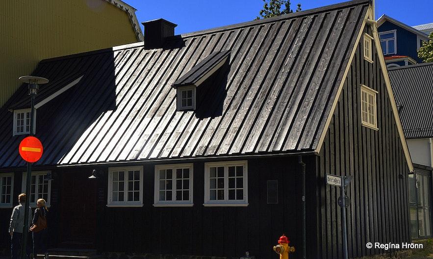 The oldest house in Reykjavík