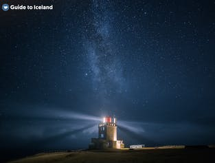 Lighthouses can be found around Iceland's coasts, but are only of any use in winter due to the Midnight Sun in summer.
