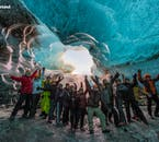 The ice caves are the most sought after tours in south Iceland in winter.