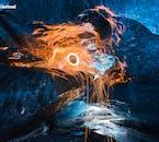 Die Eishöhlen in Island, die im Süden liegen und nur im Winter zugänglich sind, eignen sich hervorragend zum Fotografieren.