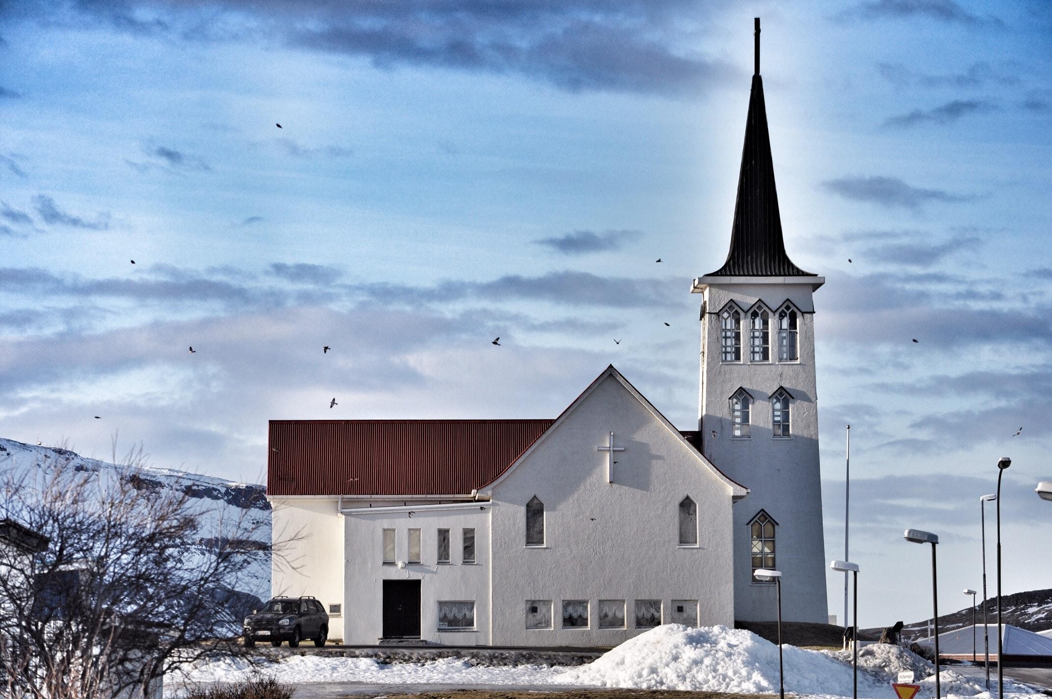 The church in Grundarfjörður on Snæfellsnes Peninsula in west Iceland