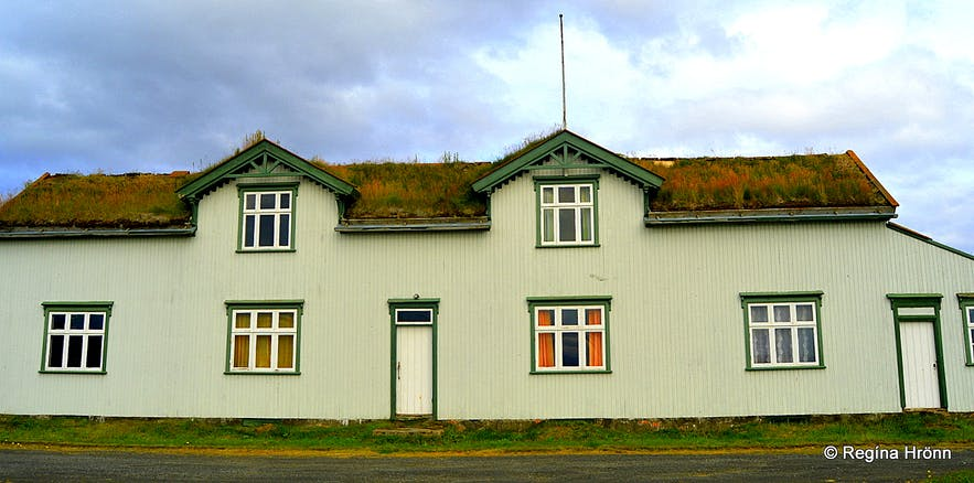 The Majestic Grænavatn Turf House at Mývatn in North-Iceland