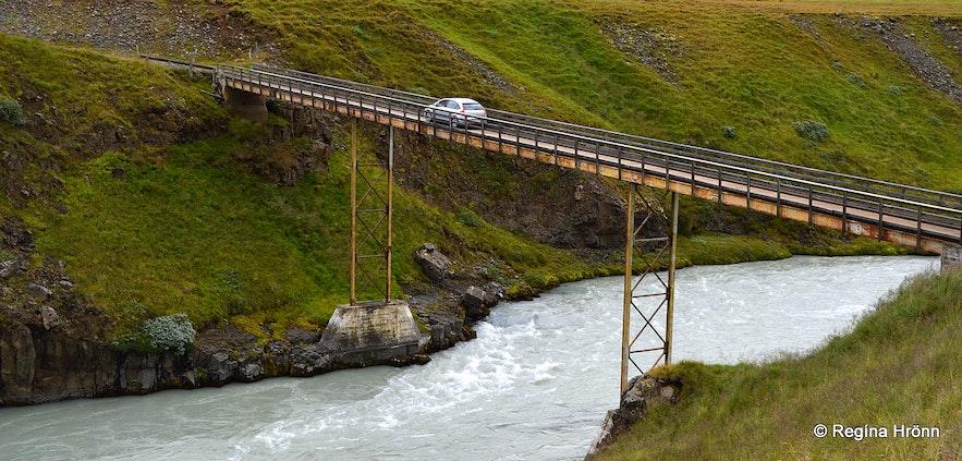 Mónikubrú bridge by Merkigil North-Iceland