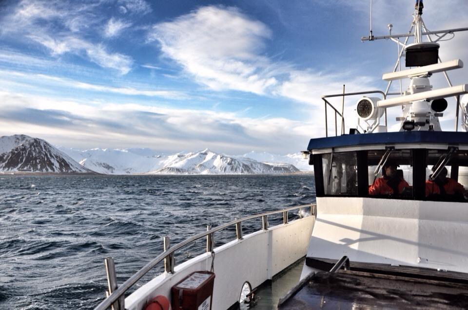 Boatride on Breiðafjörður bay