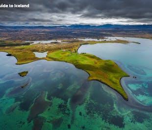 夏季セルフドライブツアー 7日間 北アイスランドとミーヴァトン湖