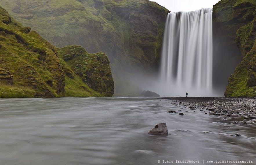 Skógafoss-Wasserfall