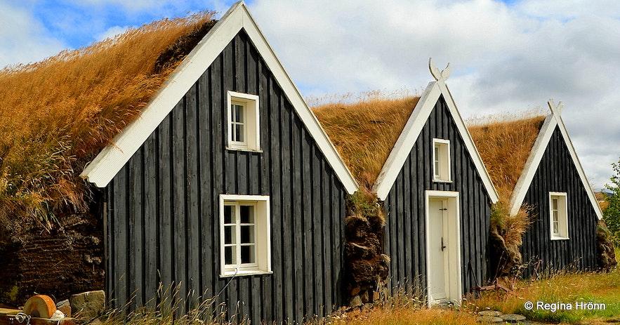 The turf house at Reykir in Skagafjörður