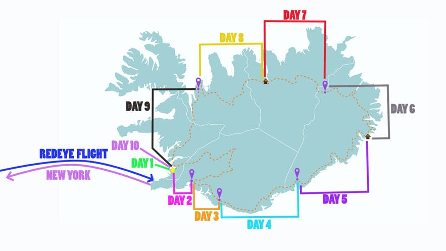 Iceland Ring Road 10-Day Trip Itinerary