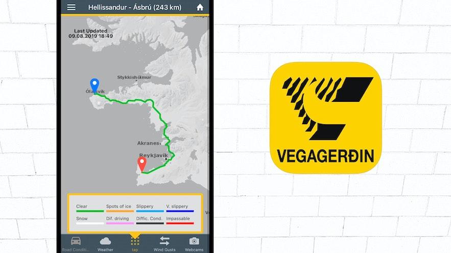 Vegagerdin App