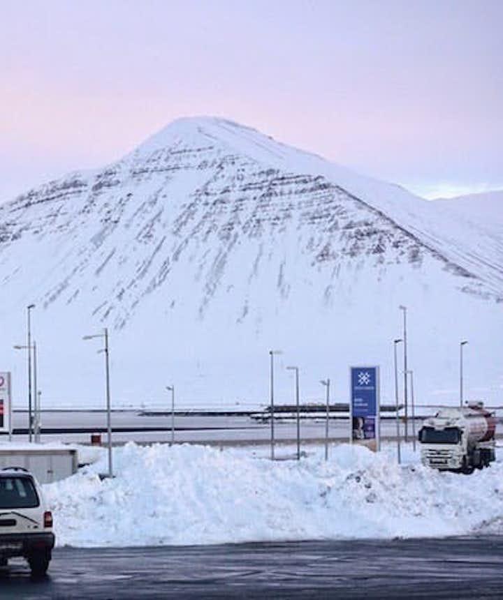 冰岛的加油站