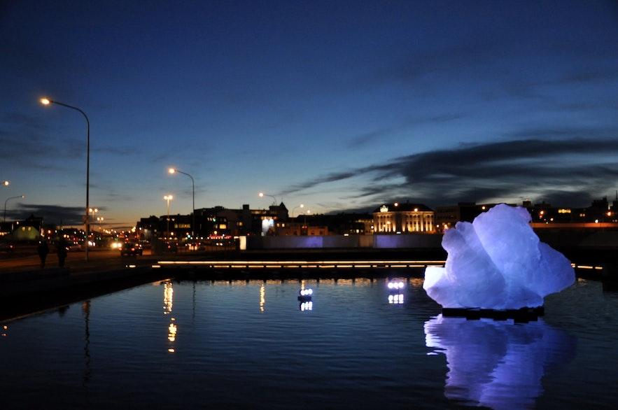 冰岛首都雷克雅未克市中心