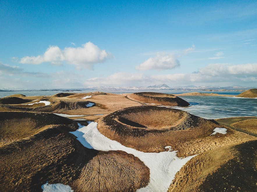Pseudocraters in Myvatn, Iceland Travel Tips