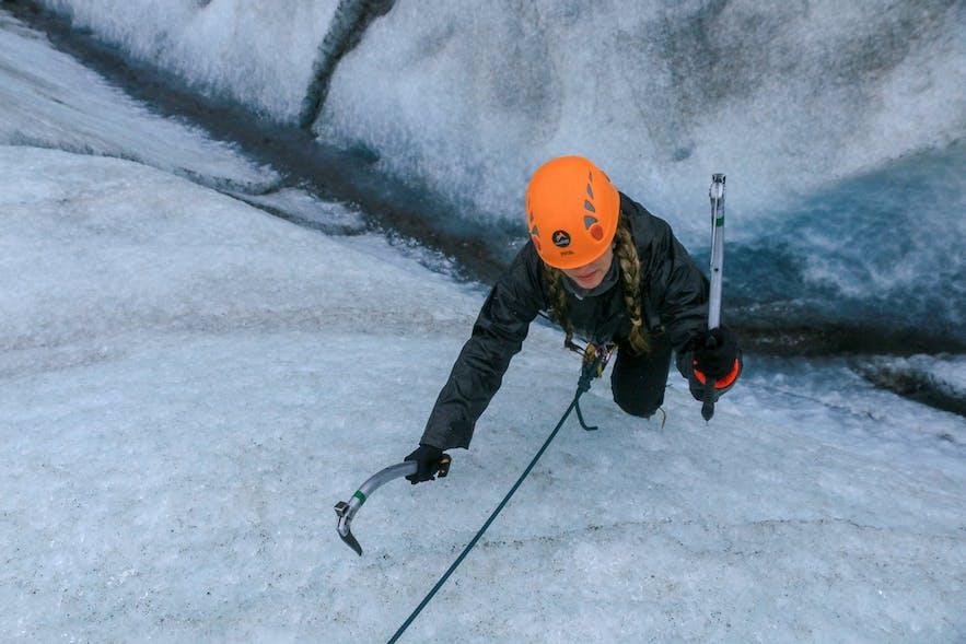 Skaftafell Ice Climb Iceland