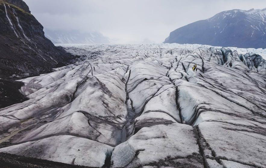 Skaftafellsjokull glacier hike